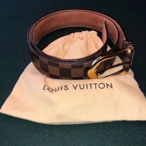 Authentic men's Louis belt